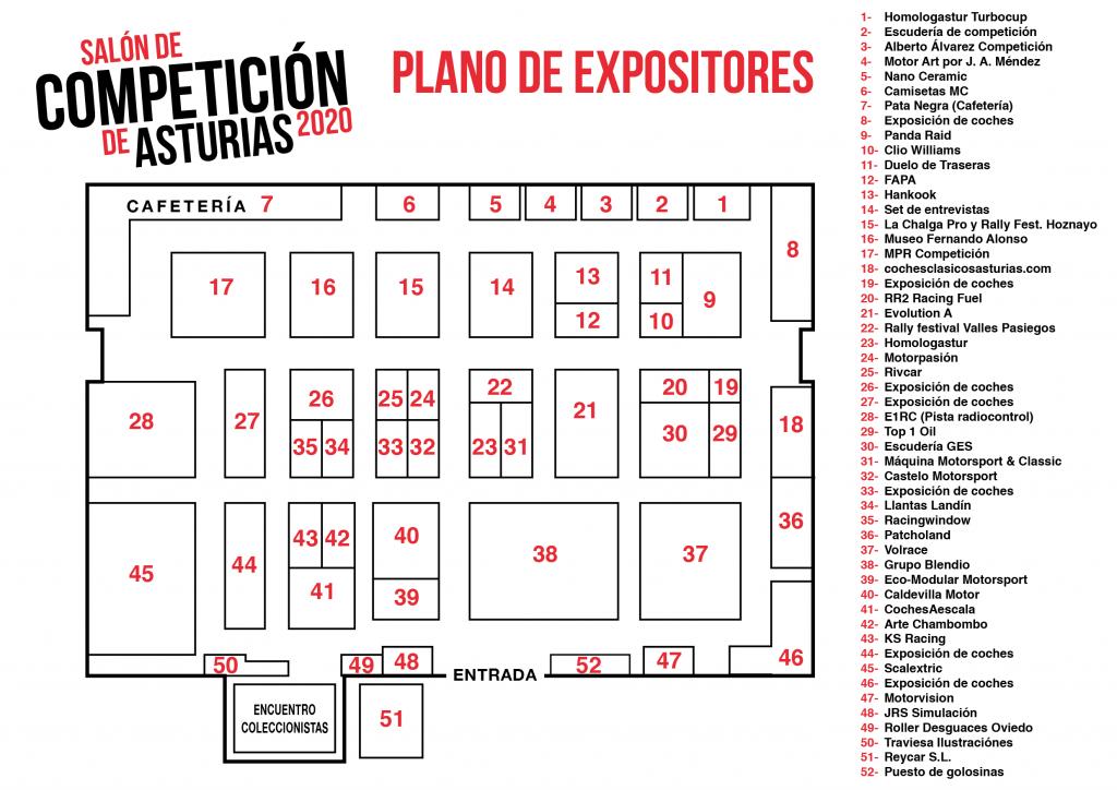 Expositores salon competicion asturias gijon